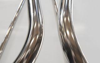 Spojovacie tyče / hrazdy sú z nerezovej ocele.