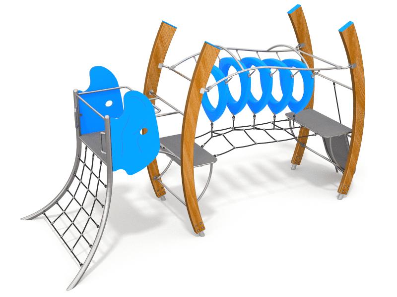 ECO drevená séria detské ihriská