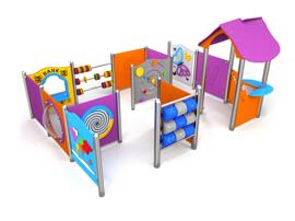 MINI séria detské ihriská pre pre materské školy