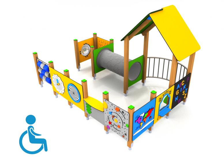 Detské ihriská pre imobilné deti