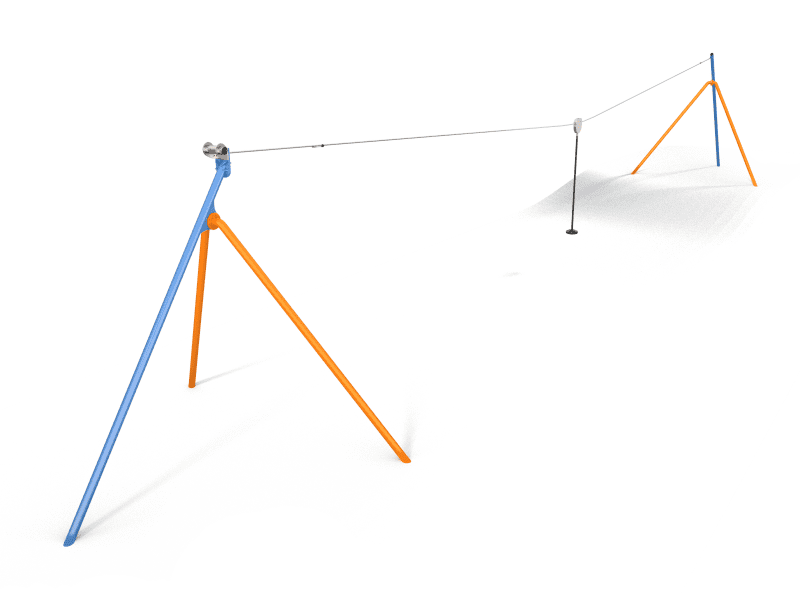 Lanové dráhy, detské ihrisko