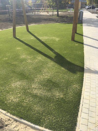 FUN 4U dopadová podložka a umelá tráva
