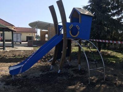 ECO drevená zostava A8075