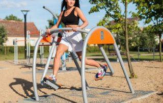 Vonkajšie fitnes stroje