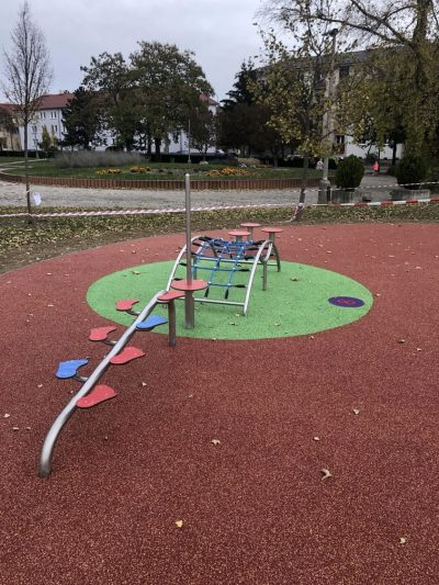 EPDM gumenný povrch dopadová plocha na detské ihrisko