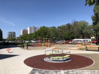 Inkluzívne detské ihrisko Petržalka