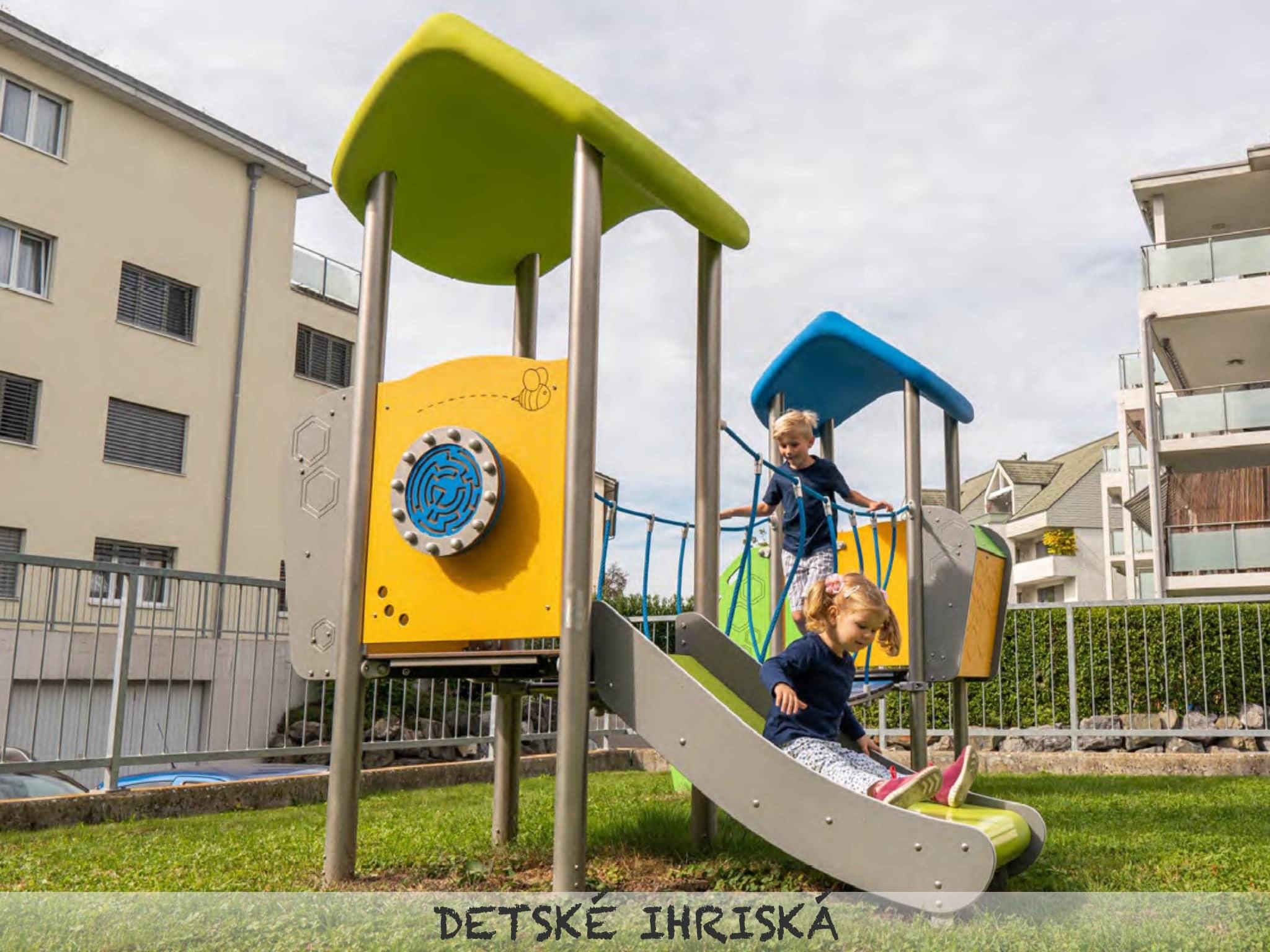 Certifikované detské ihriská